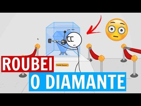 ROUBEI UM DIAMANTE/ STEALING THE DIAMOND - MATSURA GAMES