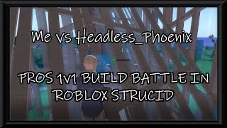 PROS 1V1 BUILD BATTLE IN ROBLOX STRUCID | 1K WOOD ONLY | Road to 200 subs