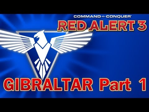 Command & Conquer: Red Alert 3 Co-Op - Allies Mission 4, Gibraltar Part 1