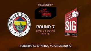 Highlights: Fenerbahce Istanbul-Strasbourg