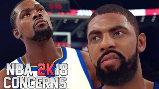 NBA 2K18 Hands On Gameplay Impressions: Concerns With NBA 2K18 - Final Thoughts!