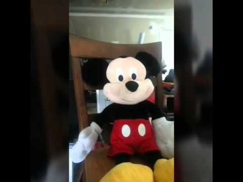 Mickey mouse interview