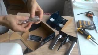 видео Дверные ручки межкомнатные Apecs. Купить со скидкой ручки Апекс в Москве