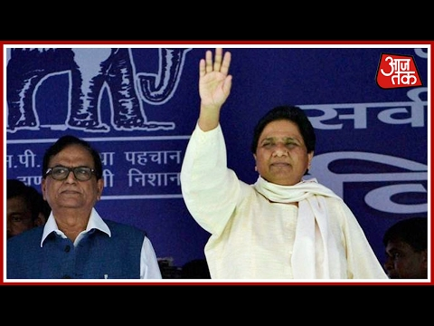 BSP Chief Mayawati's rally in Moradabad for UP Election 2017
