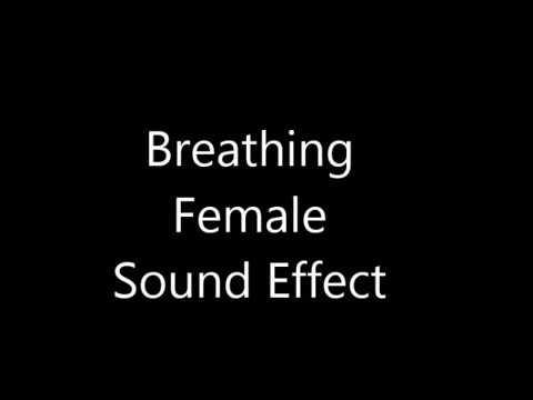 Breathing Female Sound Effect