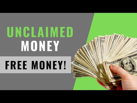 How To Find Unclaimed Money (2019)