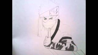 How to draw Zabuza Momochi (Improved version)