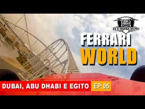 VIAJAR NA PANDEMIA: ABU DHABI FERRARI WORLD #turismo #vlog #viagem #dubai #abudhabi