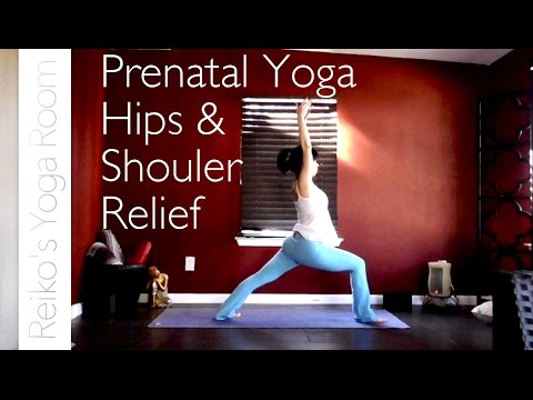 Prenatal Yoga for Hips and Shoulders Relief