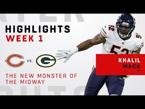 Khalil Mack Dominates Packers In Bears Debut