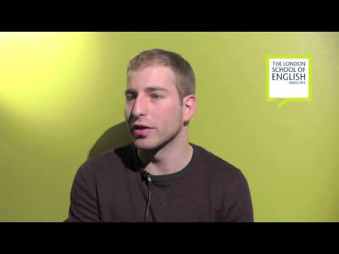 The London School of English student testimonials - Vicente RODRIGUEZ from Chile