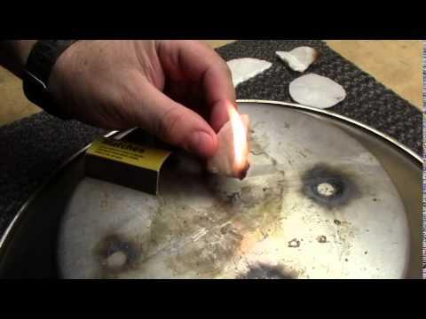Cotton Round and Wax Fire Starter
