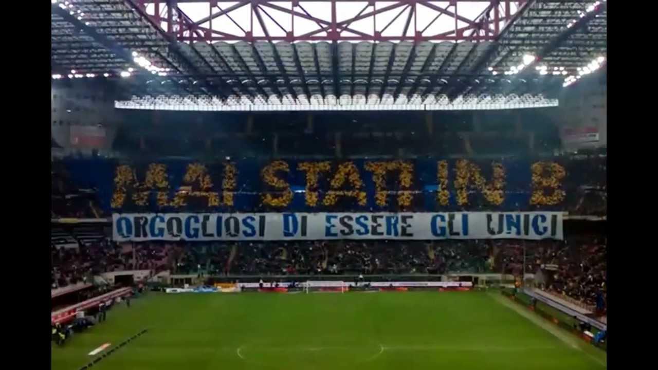 Coreografie Curva Nord Inter - Juventus - YouTube