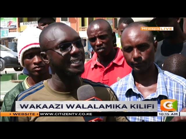Wakaazi wa Mtwapa walalamikia kutengwa katika miradi