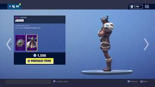 ANOTHER VIKING SKIN? | ITEM SHOP 18/1/2019 (FORTNITE)