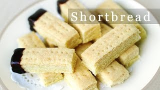 3-ingredient Shortbread Recipe 쇼트브레드 쿠키 만들기 Christmas Gift Ideas 크리스마스 선물 - 한글 자막