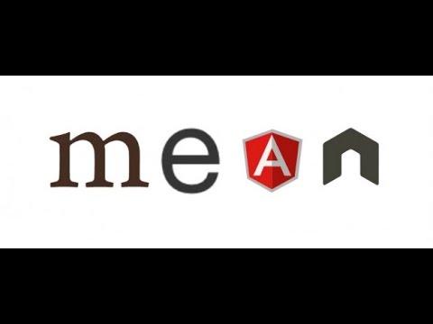 Simple MEAN Web Application