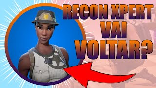 Attention!! THE RAREST SKIN OF THE FORTNITE RECON XPERT CAN RETURN TO THE STORE