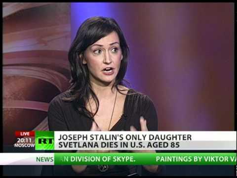 Stalin's daughter dies