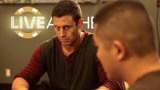 Garrett Adelstein Can't Win a Hand! High Stakes Poker Game  ♠ Live at the Bike!