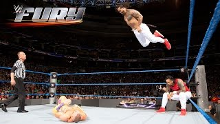 13 top-rope splashes that will hurt your insides: WWE Fury