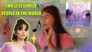 Download TWO LESS LONELY PEOPLE IN THE WORLD - MUSIC COVER | Ate Mai