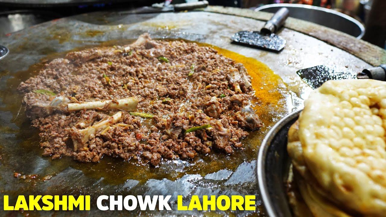 Mutton Tawa Qeema, Sheefa TakaTak | Lakshmi Chowk  Lahore | Butt Karhai | Street Food Pakistan