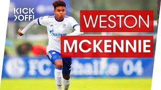 Weston McKennie: Schalke's all-American boy about Pulisic, Kroos and Pogba thumbnail