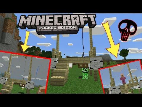 Настоящая ВИСЕЛИЦА! - Minecraft PE 1.7