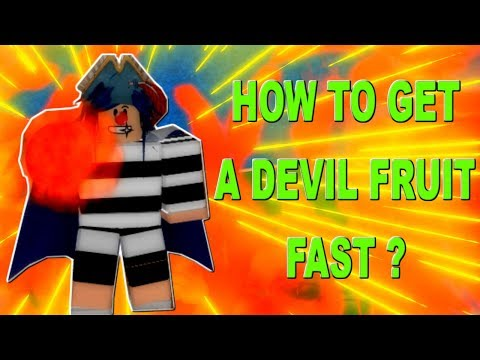 How To Get A Devil Fruit Fast & Devil Fruit Giveaway !    One Piece Pirates Wrath   ROBLOX