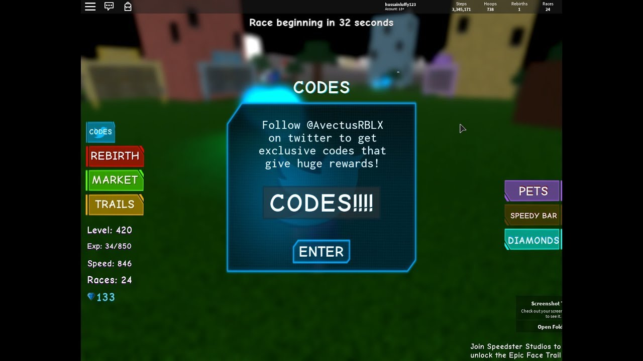 💌 Code roblox speed simulator 2 wiki   NEW CODE IN SPEED