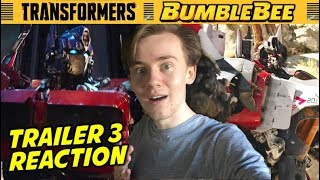 Bumblebee (2018) Trailer #3 REACTION + Review (Blitzwing Showcase)