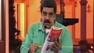 Nicolas Maduro ofendido por caricatura colombiana