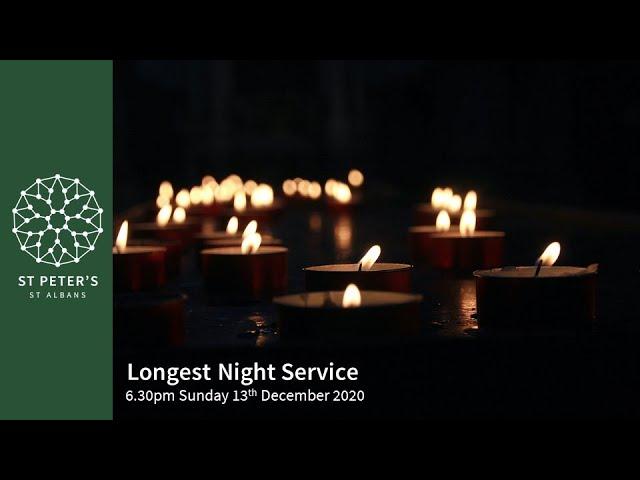 6.30pm Longest Night Service