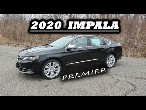 2020 Chevy IMPALA Premier ~ LAST YEAR OF PRODUCTION - Full Review