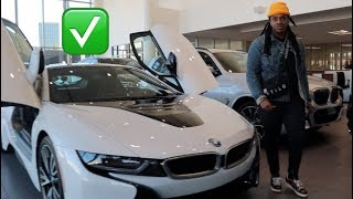 SHOPPING FOR A NEW CAR AFTER MINE WAS VANDALIZED!! (FINALLY)