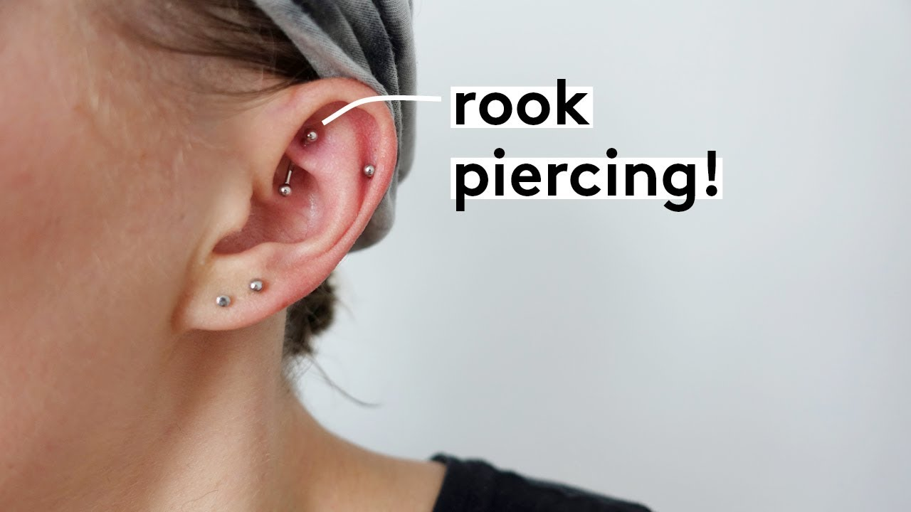 My Rook Piercing Experience Pain Cleaning Healing Youtube