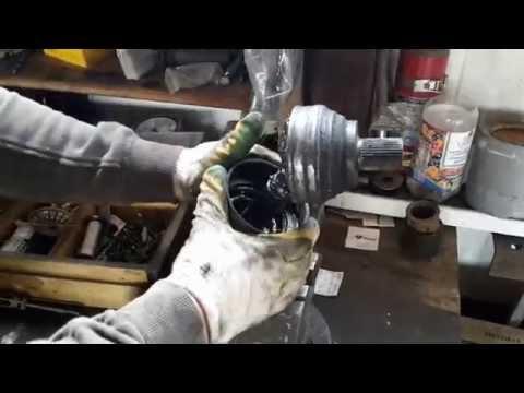 Как заменить шрус дома без спец инструмента