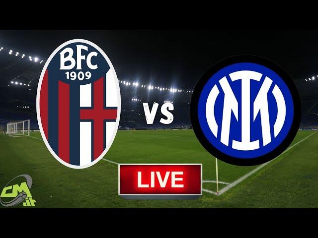 BOLOGNA-INTER LIVE! Cronaca in DIRETTA Serie A [NO Streaming]