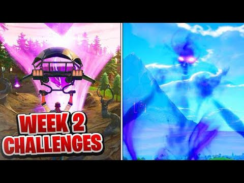 ALL WEEK 2 Challenges Guide Fortnite SEASON 6 (Fortnite Week 2 Challenges) Tutorial