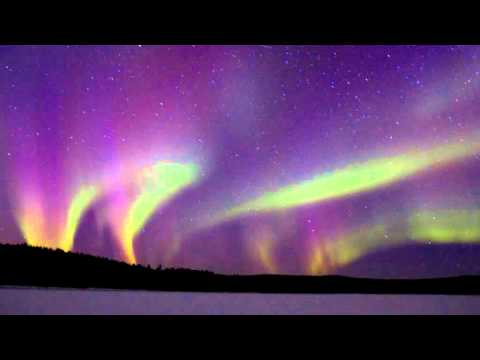 nordic light in swedish lapland youtube. Black Bedroom Furniture Sets. Home Design Ideas