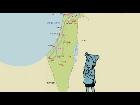 חלוקת ישראל לאזורים