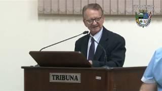 28ª Sessão Ordinária - Vereador Vanderlei Pinatto