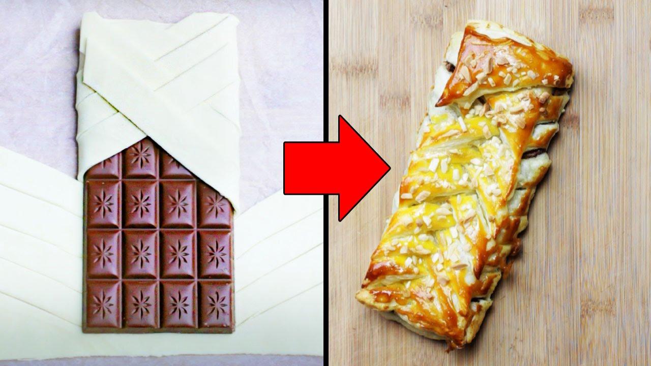 Genialer Trick Mit Einer Tafel Schokolade Youtube