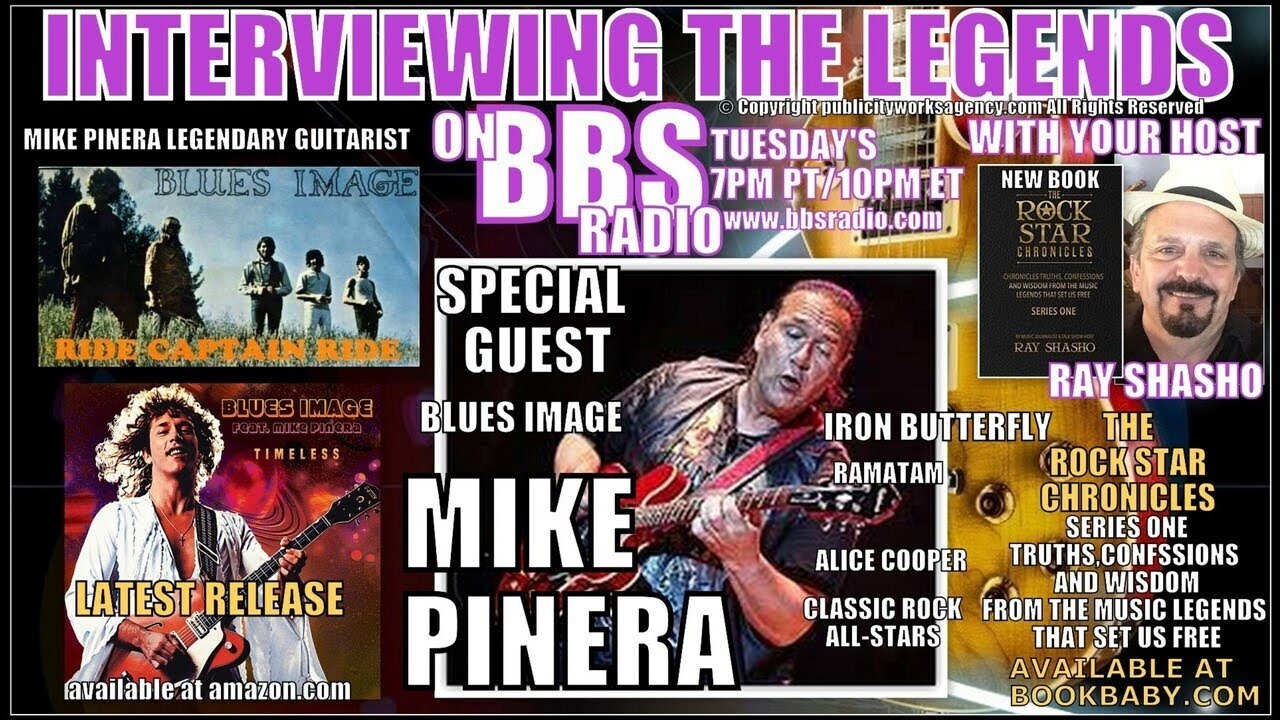 Mike Pinera: Blues Image Captain ... Iron Butterfly Monster Guitarist!