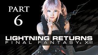 Lightning Returns Final Fantasy XIII Walkthrough Part 6 - Luxerion Wall Codes (Gameplay Let