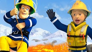 Fireman Sam New Episodes | Penny down the cliff | Seaside Rescues with Norman 🔥 Cartoon for Children