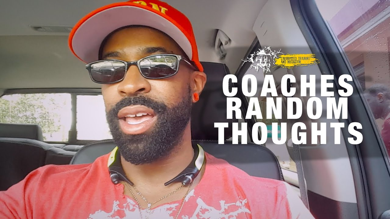 COACH CAUDLE'S RANDOM THOUGHTS: CHOOSING TO COMPETE