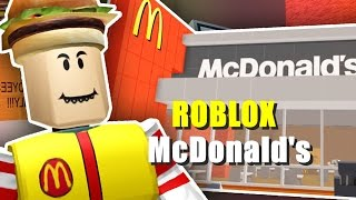 ROBLOX/My own McDonald's?? 0
