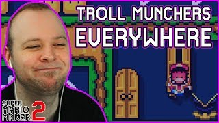 The troll level that munched my soul... [Super Mario Maker 2]